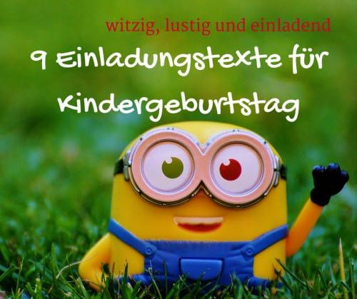 Read more about the article 9 Einladungstexte für Kindergeburtstag, witzig, lustig und einladend